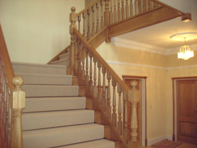 Bespoke Fitted stairs for loft conversion by Springfield Stairs, Swadlincote, Derbyshire