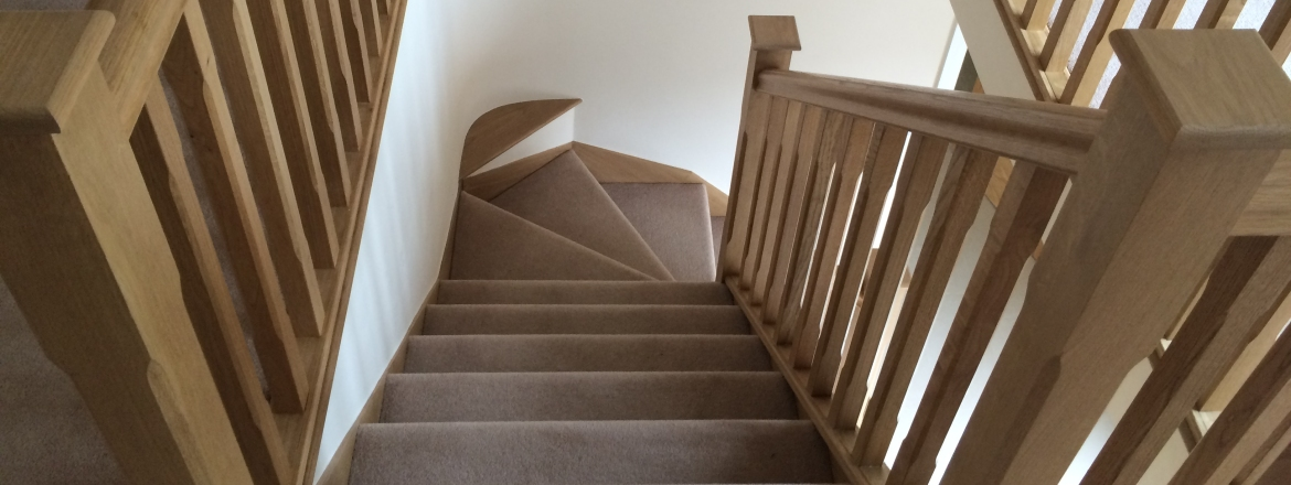 Springfield Stairs , Derbyshire staircases,  trade & domestic